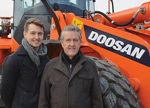 Adare Machinery has developed into a fully fledged family enterprise.)