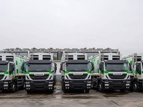 Iveco supplies 109 natural gas vehicles to Madrid)