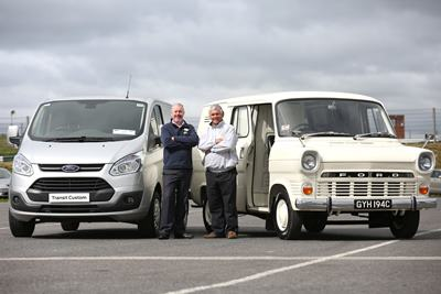 The Ford Transit turns 50)