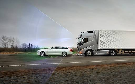 Intelligent safety systems minimise risk of traffic accidents)