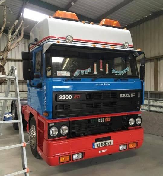Best Classic DAF or Leyland Truck – Brian Callery's DAF 3300 ATi)