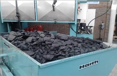Ceramex DPF Waste post Cleaning)