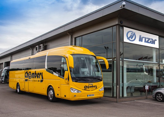 Chambers Coaches provide private coach hire solutions, covering a wide-ranging customer base, including sport, tours, day trips, airport transfers etc. )