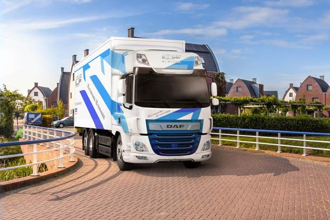 DAF introduces CF Electric with Extended Range)