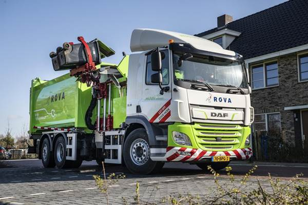 DAF CF Electric refuse collection truck)