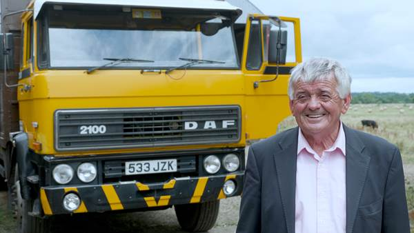 John Tarrent and his DAF 2100 from 1984)