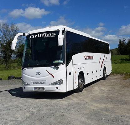 Griffins Coaches has developed a stellar reputation as the premier coach and minibus hire company in County Limerick. )