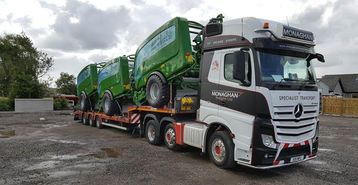 Monaghan Freight Ltd)
