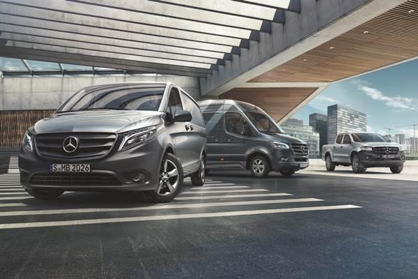 Mercedes-Benz van range 2018)