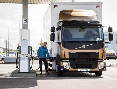 Volvo Trucks has approved renewable synthetic diesel HVO )
