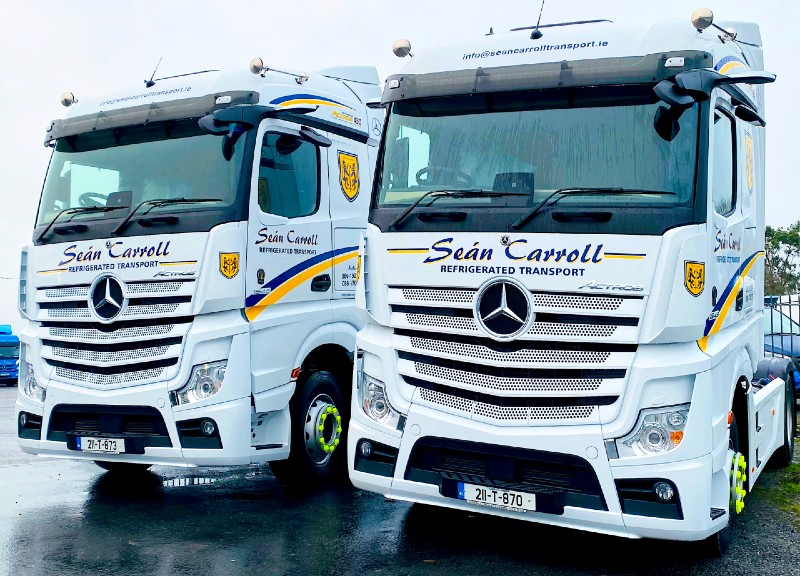 Sean Carroll Transport - Actros)