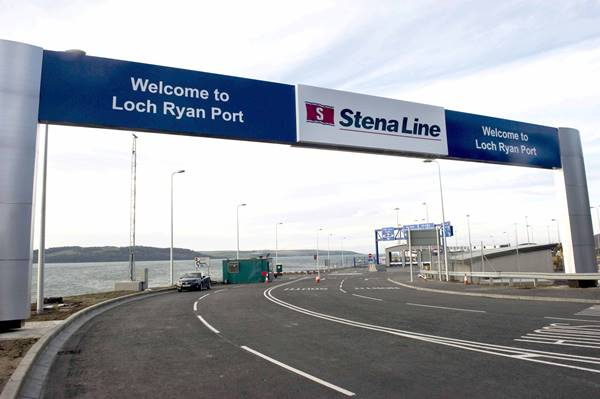 Stena Line, Loch Ryan Port)