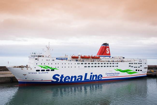 Stena Europe - Fishguard - Rosslare)
