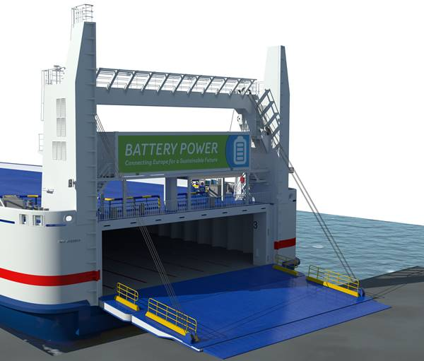 Stena Line Battery Power Project)