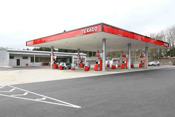 The new €4million, Texaco-branded service station)