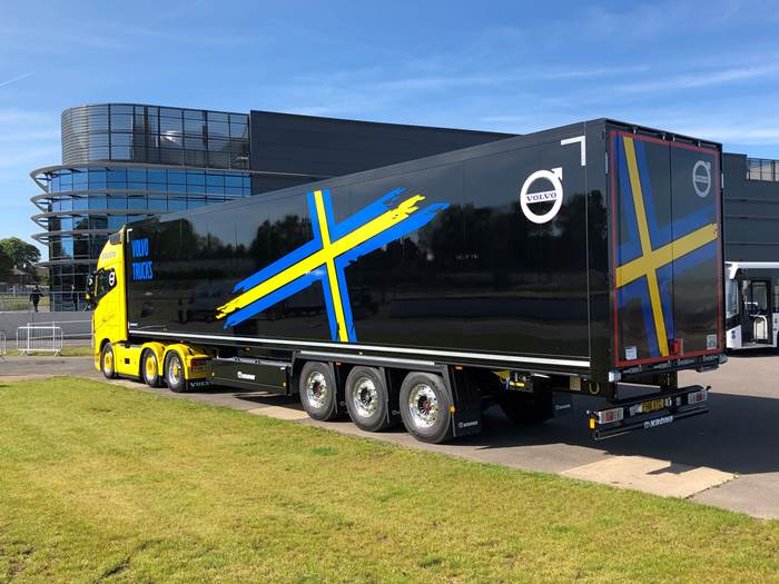 Volvo returns to Krone for high quality trailers)