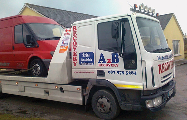A2B Recovery offers a comprehensive breakdown recovery service.)