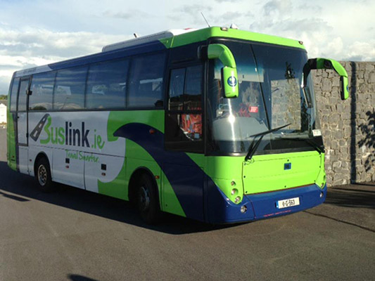 At Buslink, the ethos is 'Quality, Quality, Quality')