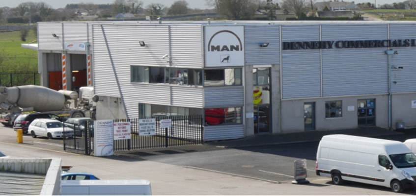 Dennehy Commercials has been the main agents for MAN in Ireland since the early years of its inception, with Renault having come on board last year. )