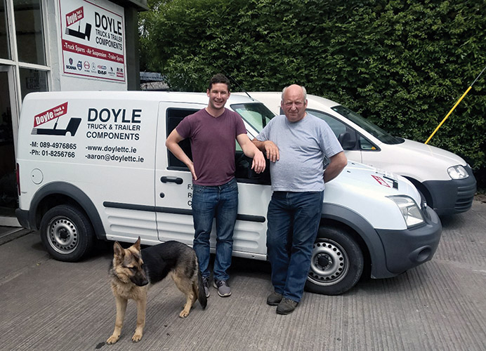 Doyle Truck & Trailer Components is one of the few spare parts centre's that realigns its own brake shoes on site.)