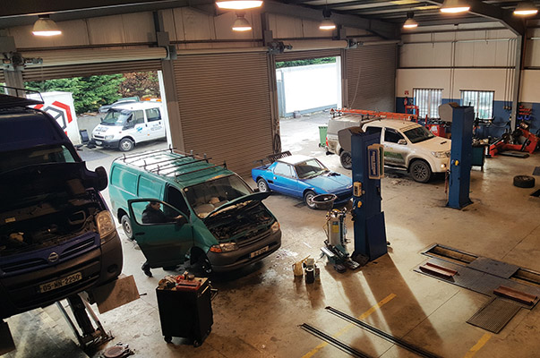 Elite Servicing cover a wide range of vehicles from cars and vans to trucks and agricultural machinery.)