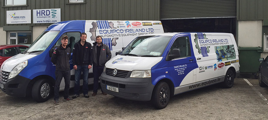 Equipco Ireland Ltd is the new name in automotive equipment sales and service.)