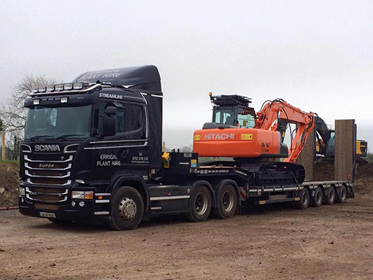 Errigal Plant and Sales Ltd are constantly adding to their fleet to provide their customers with the most comprehensive range of plant machinery and vehicles to hire.)
