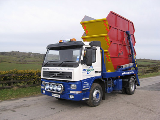 The Armagh company operates a fleet of ten trucks)