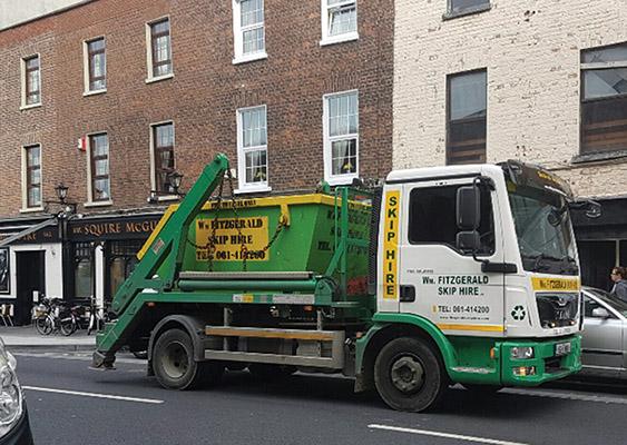 Irishtrucker Limerick S Local Waste Service Provider