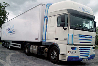 Frigospeed operates a fleet of high specification temperature controlled vehicles)
