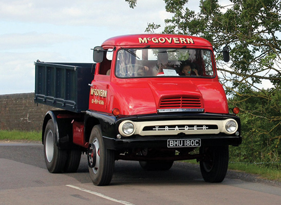 One of the longest established haulage firms in London is McGovern Bros)