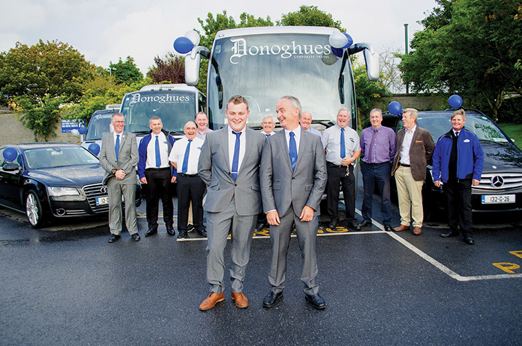 They operate a fleet of modern deluxe Failte Ireland 4 & 5 star approved coaches)