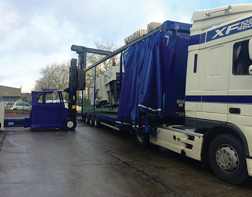 Leitch Translift Ltd is a one-stop shop for all your truck mounted crane hire needs.)