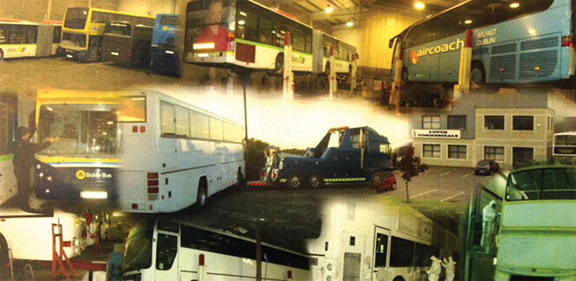 Louth Commercials have the facilities and capacity to carry out literally any work on a coach, bus or commercial vehicle.)