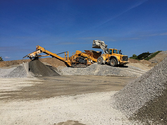 Mannion Quarries has come a long way since it was founded two decades ago.)