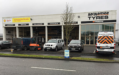 For more than a decade, McNamee Tyre Services has been offering superb products and care to commercial vehicle operators)