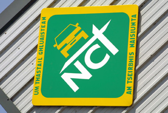Any car 10 years or older will be subject to an annual NCT.)