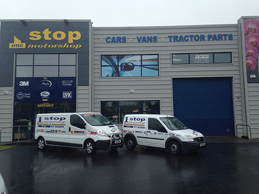 One Stop Motor Shop has been providing customers throughout the North West with an unrivalled motor parts service)