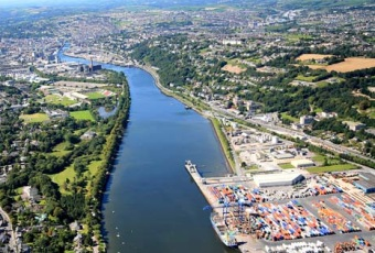 Port of Cork has shown signs of recovery)