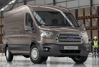 The new Ford Transit)