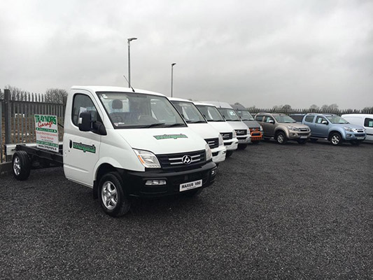 Traynor's Garage operate from 4,000sq ft premises located on a two acre site)