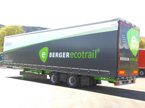 "19.5"" tire with10-tonne axle weight for lightweight mega trailers)"